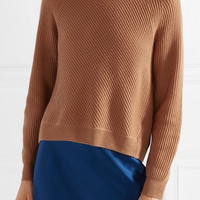 Vince - Ribbed wool and cashmere-blend sweater