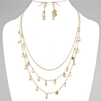 Adorn by LuLu - Delicate Gold Leaf Layers