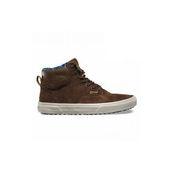 Vans Mens Pig Suede Fleece Era Hiker CA Carafe