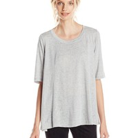 BCBGeneration Women's Split-Back Top