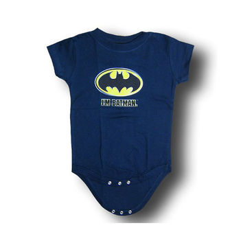 I'm Batman Infant Onesuit