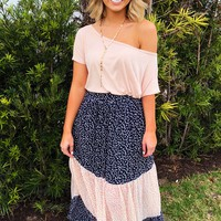 Easy Does It Top: Blush