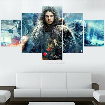 Game of Thrones Jon Snow White Walkers Queen of Dragons