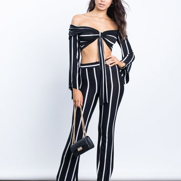 Candice Striped Pants