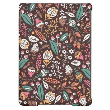 Pretty Vintage Floral Pattern iPad Air Case