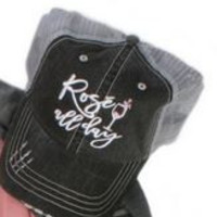 Rose All Day Trucker Hat by Katydid