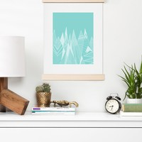 Viviana Gonzalez Patterns in the mountains 02 Art Print   Deny Designs Home Accessories