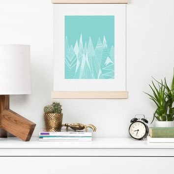 Viviana Gonzalez Patterns in the mountains 02 Art Print | Deny Designs Home Accessories