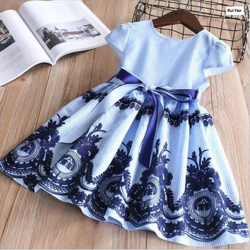 Y32061443 2018 New Summer Baby Girls Dress Lace Fashion Toddler Girl Dress  Party Girl Princess Dress e7d37c085