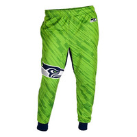 Forever Collectibles Polyester Men's Jogger Pants NFL Seattle Seahawks Case