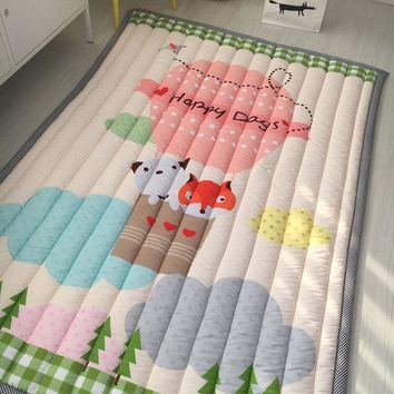 "Baby Play Mat | Thick Padding | 54""x 76"" 