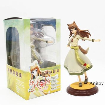 "Free Shipping Anime Kotobukiya Spice and Wolf Holo Renewal 1/8 Scale Boxed PVC Action Figure Collection Model Toy 8"" 20CM KT3877"