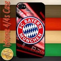 FC Bayern Munchen Football Club Logo Champions League iPhone 4 or 4S C