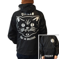 Citizen - Stay in Solitude Windbreaker (Black)