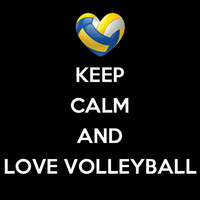 Keep Calm and Love Volleyball Customize to All Sizes and Colors - TShirt , Vneck, Tank Top