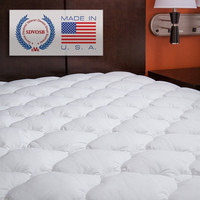King size Extra Plush Mattress Pad - Hypo-allergenic