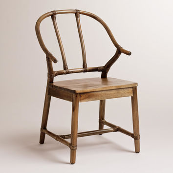 Natural Bowen Wishbone Chair - World Market