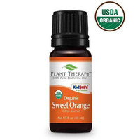 Plant Therapy Certified Organic Sweet Orange Essential Oil