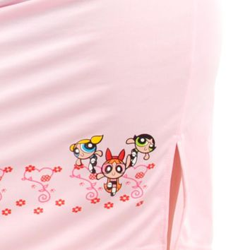 Vintage 90's Power Puff Pink Skirt - XS/S