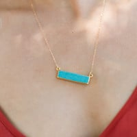 Betsy Pittard Designs Cameron Bar Necklace