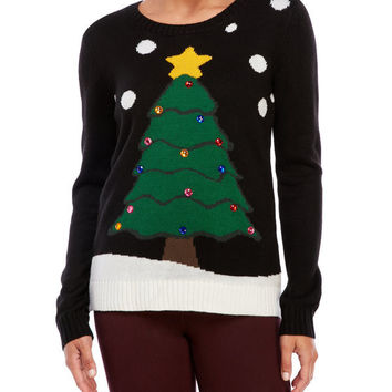 Ugly Christmas Sweater Pattern Christmas Sweater [9503682884]