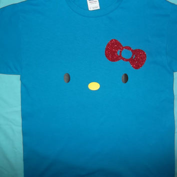 Hello Kitty T Shirt with glitter bow