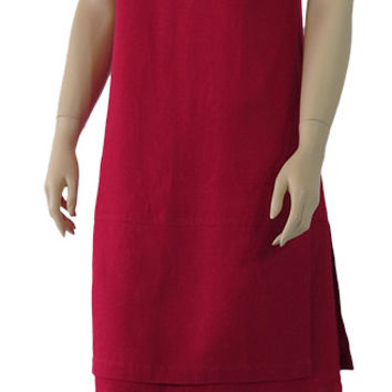 Linen The Dress with double flip base