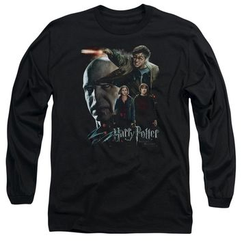 Harry Potter - Final Fight Long Sleeve Adult 18/1 Officially Licensed Shirt