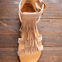 Portside Sandals in Taupe