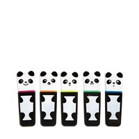 Paperchase 5 Pack Panda Highlighter Pens