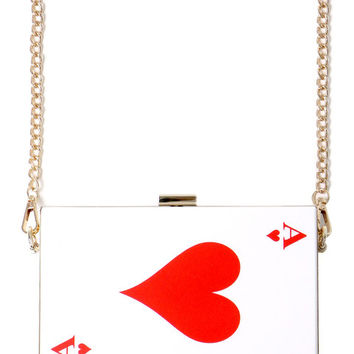 ACE OF HEARTS PURSE