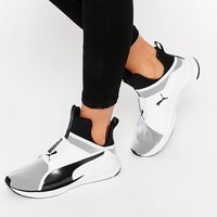 Puma | Puma Fierce Core Sneakers In White at ASOS