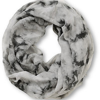 Empyre Washed Out Tie Dye Infinity Scarf