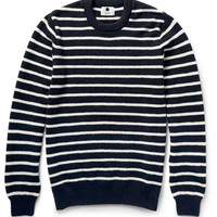 NN.07 - Mike Striped Wool Sweater | MR PORTER