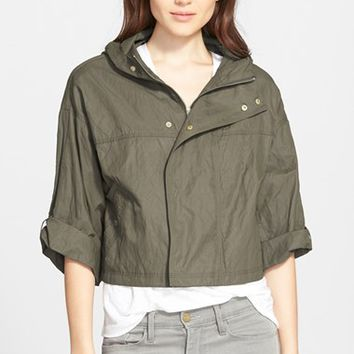 Women's Joie 'Marlin' Crop Hooded Jacket,