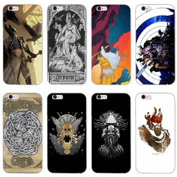 Viking warrior norse thor odin slim silicone Soft phone case For LG G2 G3 mini spirit G4 G5 G6 K7 K8 K10 2017 V10 V20 V30