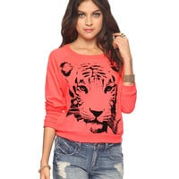Staring Tiger Top | FOREVER21 - 2000038785