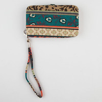 Mixed Media Cell Phone Wallet Multi One Size For Women 21074395701