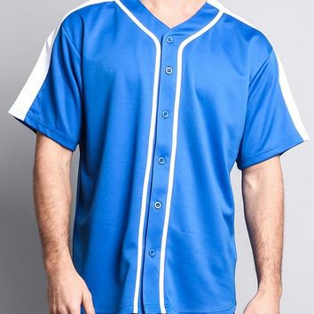 Men's Two Tone Baseball Jersey