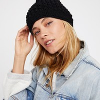 Free People Bobble Slouch Beanie