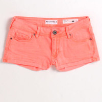 Bullhead Orange Single Roll Shorts at PacSun.com