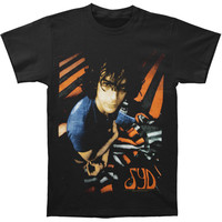 Pink Floyd Men's  Stripes Slim Fit T-shirt Black Rockabilia