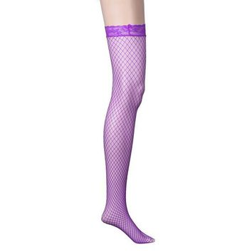 Knee-High Fishnet