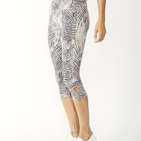 Move Printed Pull Up Leggings