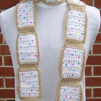 CROCHET Pop Tart Scarf PATTERN