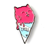 The Chill Cat Pin