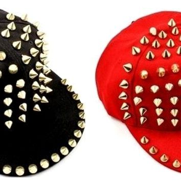 SPIKED SWAGG SNAPBACK