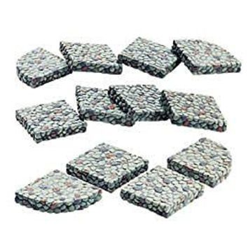 Department 56 Seasons Bay Stone Footpath Sections - Set of 12 - #53375