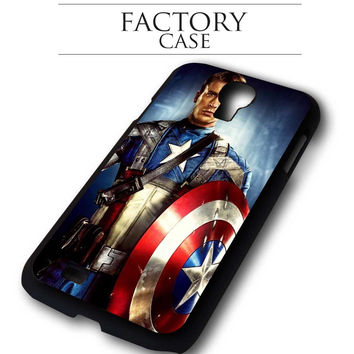 Captain America  iPhone for 4 5 5c 6 Plus Case, Samsung Galaxy for S3 S4 S5 Note 3 4 Case, iPod for 4 5 Case