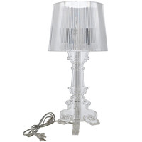 French Petit Table Lamp in Clear